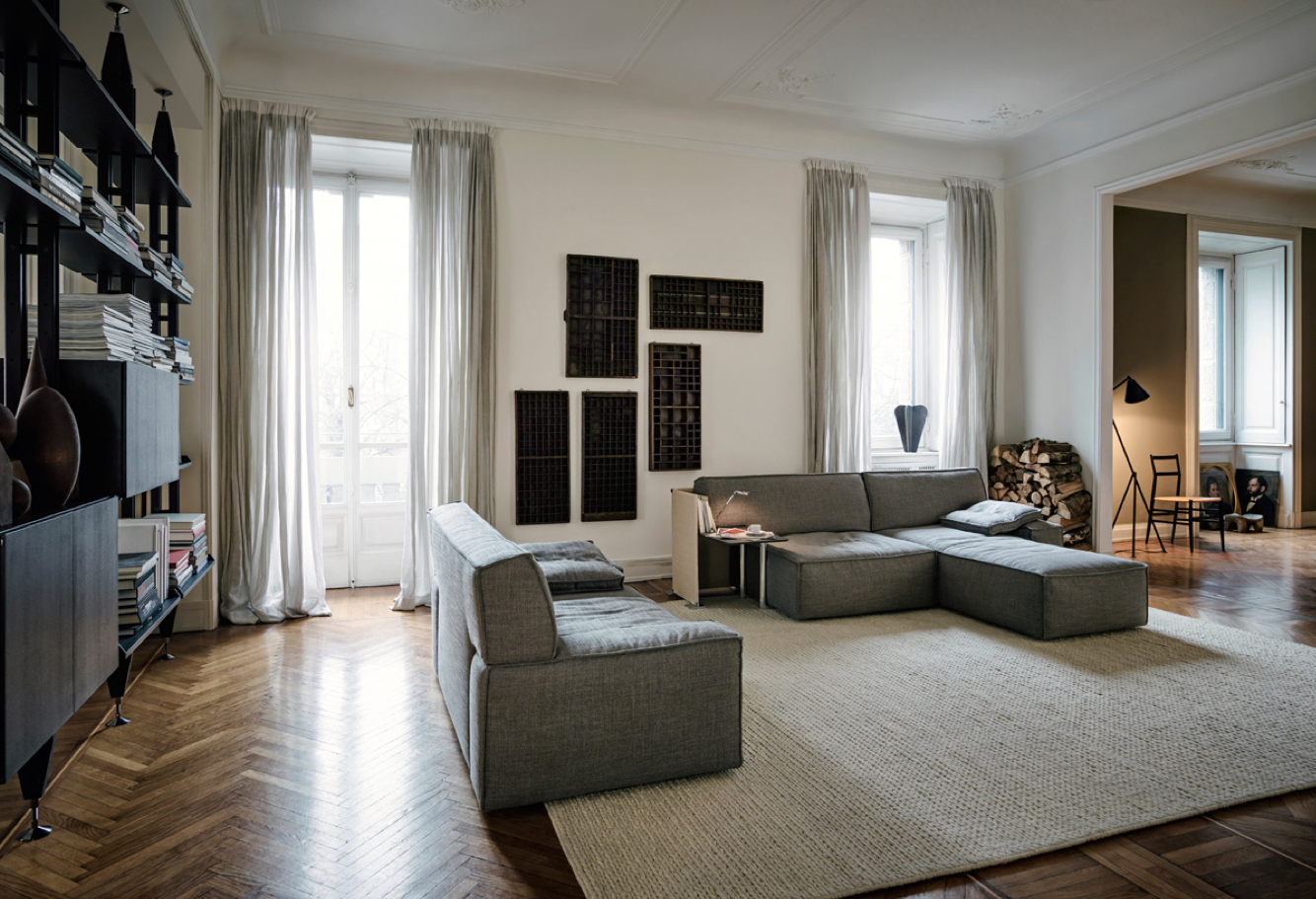 canap lounge sign ph starck et cassina influences by. Black Bedroom Furniture Sets. Home Design Ideas
